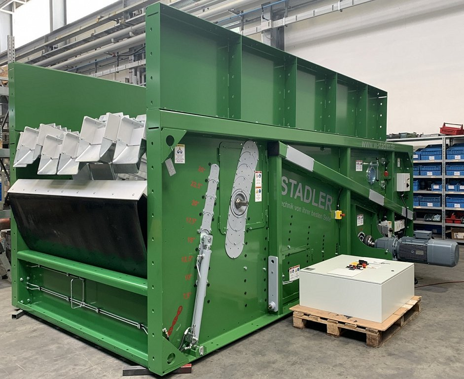 1_1000th STADLER ballistic separator at the fabric